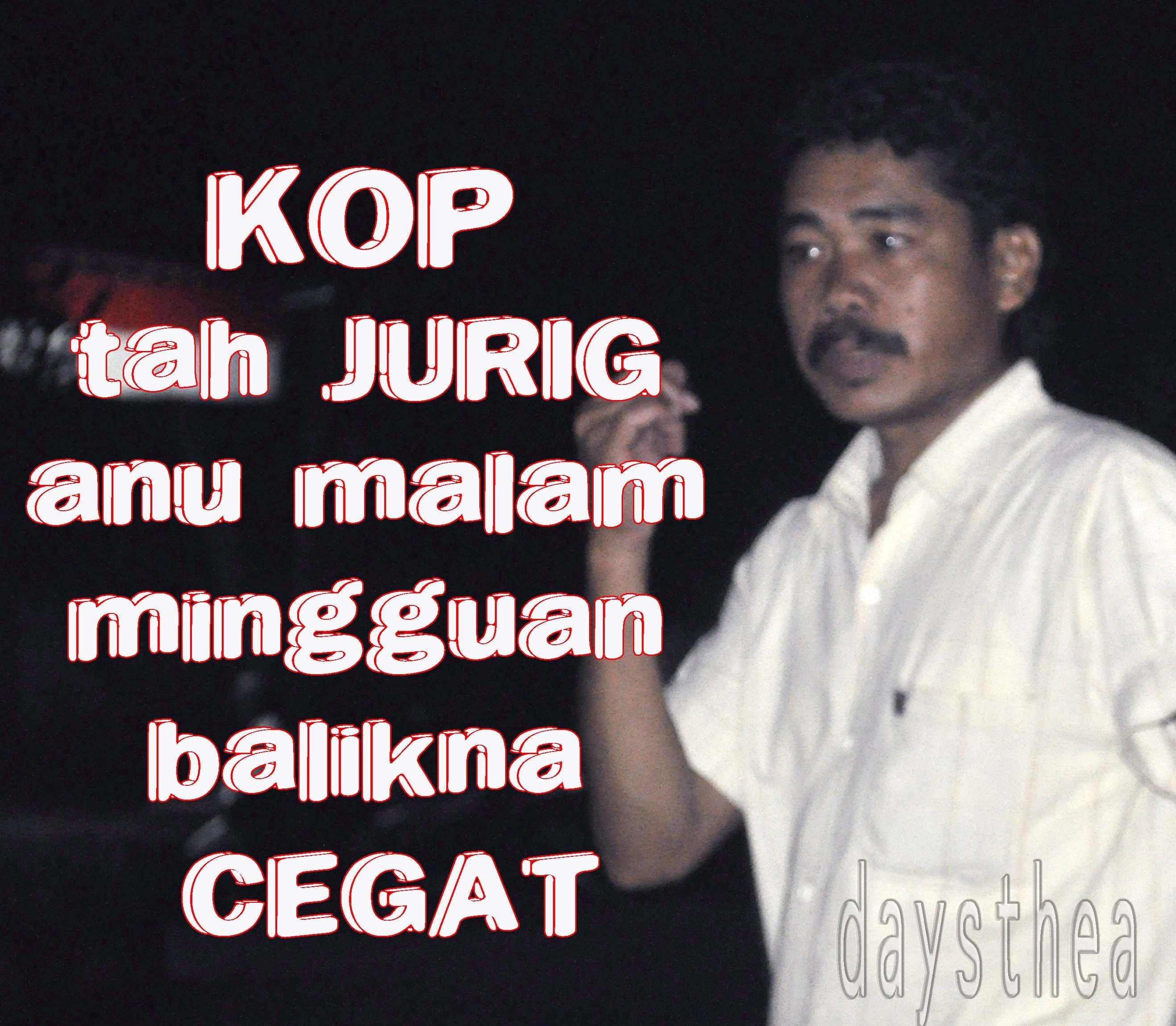 Kop Tah Jurig Daysthea